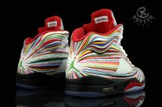 "Air Jordan 5 ""Rocket Science"" Custom"