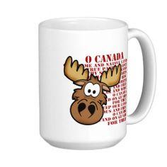 O Canada Moose Mug