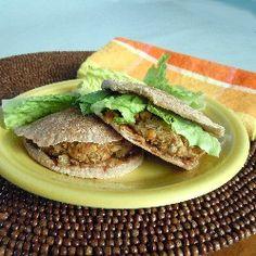 Vegan Baked Falafel Sandwiches HealthyAperture.com