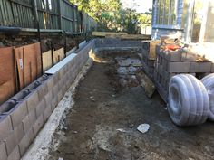 3 courses ready for fill & backfill