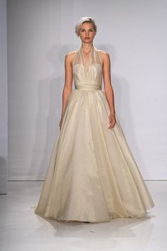Glam Wedding Dresses with Gold Accents