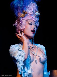 The Shanghai Pearl...burlesque performer from Seattle