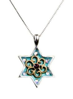 Two of my fave things...Turquoise and Judaica