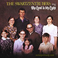 Sunday Morning Gospel album cover: before the Duggars...The Lord gave us this  family.