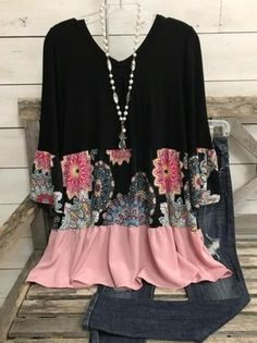 Types Of Sleeves, Blouses For Women, Long Sleeve Tops, Fashion Outfits, Pink, Fashion Design, Style, Tops Online, Shirts Online