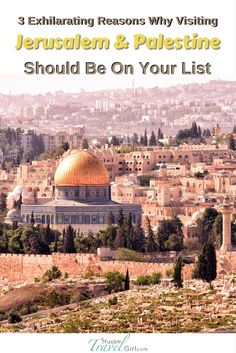 Why should you visit Jerusalem and Palestine? From its rich culture to its abounding history, and warm people, Palestine should be a must-visit destination for any traveler.