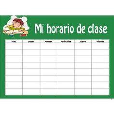 horario escolar                                                                                                                                                      Más
