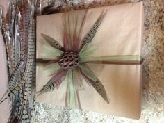 Wedding Gifts For Outdoorsy Couples : Wedding gift wrap for the outdoors couple!