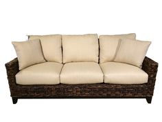 Talsma wicker couch - $1200