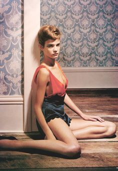 Natalia Vodianova/Vogue Uk January 2003