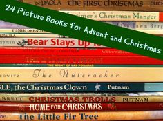 24 Picture Books for Advent and Christmas