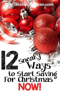 Are you looking for some sneaky ways to start saving for Christmas? Don't let the holidays stress you out especially financially. So easy to save! Start NOW Save Money On Groceries, Ways To Save Money, How To Make Money, Christmas On A Budget, All Things Christmas, Christmas Ideas, Christmas Planning, Christmas Recipes, Xmas