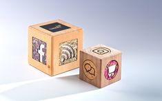 DEROBERHAMMER - Concierge Cube Concierge, Laser Engraving, Bookends, Cube, Decorative Boxes, Fine Dining, Decorative Storage Boxes, Book Holders