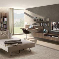 Scrivania con libreria | ♥ Home . (: ♥ | Pinterest | Studio, Study ...