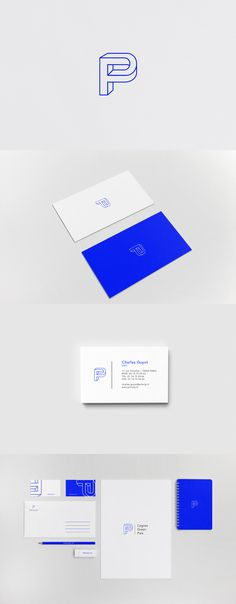Princip Real estate and finance company  This new identity for the company Princip is elegant and contemporary yet corporate. The logo has an architectural shape, it is playful, draws attention, and conveys the feeling of strength and stability. This is a team work with Paul Saint Bris