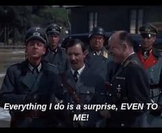Carter as Hitler- I LOVED this episode!!! Omg Carter was hilarious!!!