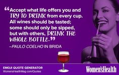 Here's Your Inspirational Quote from Paulo Coelho In Brida  http://www.womenshealthmag.com/life/paulo-coelho-in-brida-quote