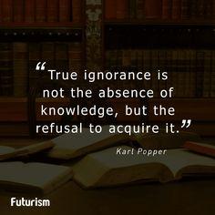 Karl Popper quote