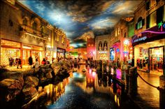 Miracle Mile Shops   An enclosed shopping mall on the Las Vegas Strip. 170 stores, 15 restaurants & live entertainment venues.