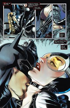 Catwoman and Batman heat up