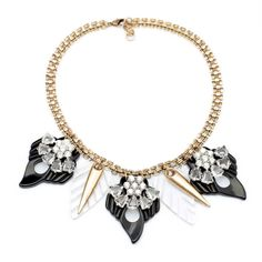 Choker statement necklace jewelry                               N12-23-15    $23