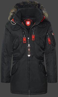 Wellensteyn Rescue Parka, RainbowAirTec, Schwarz                                                                                                                                                                                 More