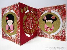 Creations by Patti: Kyoto Kuties Accordion Asian B'day card