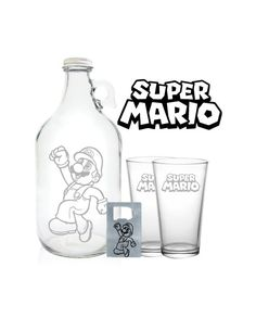 Hey, I found this really awesome Etsy listing at https://www.etsy.com/listing/211171572/super-mario-growler-64oz-beer-growler