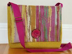 Handbag/Satchel/Cross Body Bag/Messenger Bag/i-pad by ANYTexture