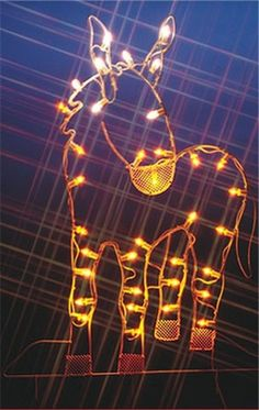 Outdoor solar christmas lights christmas outdoor santa lights decor silhouette donkey lighted led wire frame shape from bronners christmas store of christmas ornaments and christmas lights outdoor solar mozeypictures Gallery