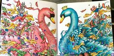 From Imagimorphia. Colored with Faber Castell Polychomos #Imagimorphia #KerbyRosanes #Polychromos