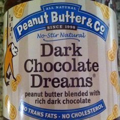 Peanut Butter & Co's Dark Chocolate Dreams - like Nutella, but dairy-free!