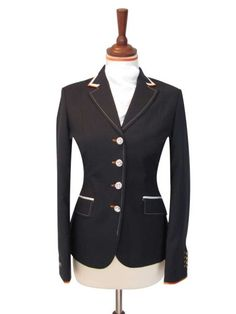 Show Jacket - Short Dressage Jacket - Juuls Jackets - Riding wear - Equestrian - Clothes Show Jackets, Black Horses, Equestrian Outfits, Horse Saddles, Your Style, Blazer, Horse Stuff, Dressage, Competition