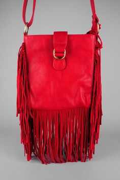 red and fringe. love