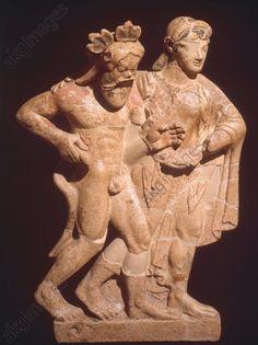 Etruscan terra cotta Ante fix From Temple of Mater Matuta in Satricum C.500BC