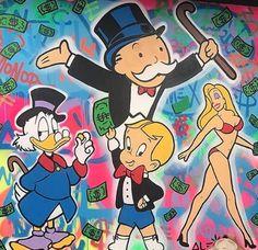 Alec Monopoly Graffiti Artist
