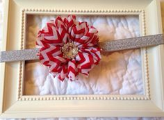 Baby headband  baby Christmas headband  baby by MiaBellaBands, $8.95
