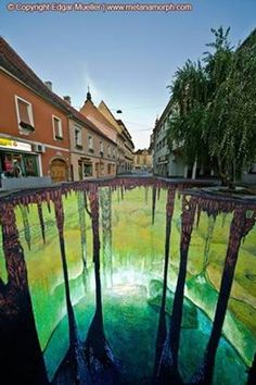 More pavement art...wow