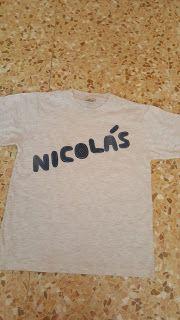 Las cosas de Mari: Camisetas personalizadas