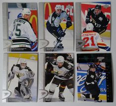 1996-97 Upper Deck UD Series 2 Dallas Stars Team Set of 6 Hockey Cards #UpperDeck #DallasStars