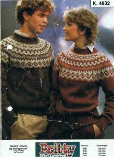 k 4632 Norwegian Knitting, Fair Isle Knitting, Vintage Sweaters, Casual Wear, Preppy, Christmas Sweaters, Knitting Patterns, Knit Crochet, Men Sweater