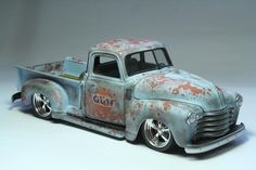 Weathered 50 Chevy