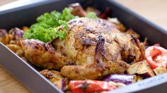 Enjoy this quick and easy Malaysian roast chicken recipe by Sherson Lian from Family Kitchen with Sherson.