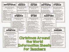 Second Grade Nest: Christmas Around the World