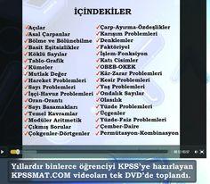 KPSS Matematik DVD