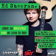 hi guys, I wanted to ask you to help me to win a ticket to the show of Ed Sheeran I really want to go but i dont have enough money I love him so much and is he first time in brazil. I wanted to ask you guys (who have instagram) To just like his picture on my instagram ( http://instagram.com/victori55/ ) I really want to win and see him playing my favorite songs, thanks already xx