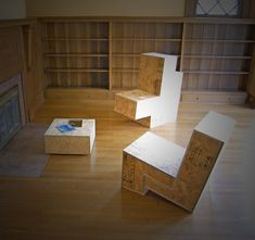 ROLU Plywood Furniture - could burn that Mitchell patterns