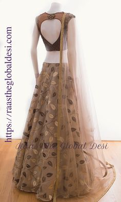 CHANIYA CHOLI 2019 Latest designer & custom-made Lehenga Choli online online.Browse our beautiful designer collection -featuring unique designs & embroidery! Available now in the USA, Canada & Australia! Indian Fashion Dresses, Dress Indian Style, Indian Designer Outfits, Designer Dresses, Indian Wear, Fashion Outfits, Pakistani Dresses, Asian Fashion, Trendy Outfits