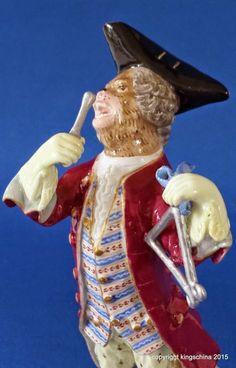 MEISSEN PORCELAIN MONKEY BAND FIGURINE TRIANGLE Affenkapelle ORCHESTRA figuren   eBay