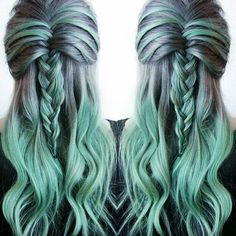 I'm doing this when I'm older and my hair is all grey <3